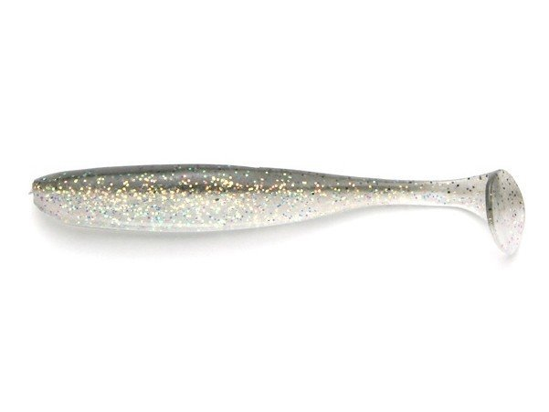 KEITECH Easy Shiner 4 inch - #410 Crystal Shad