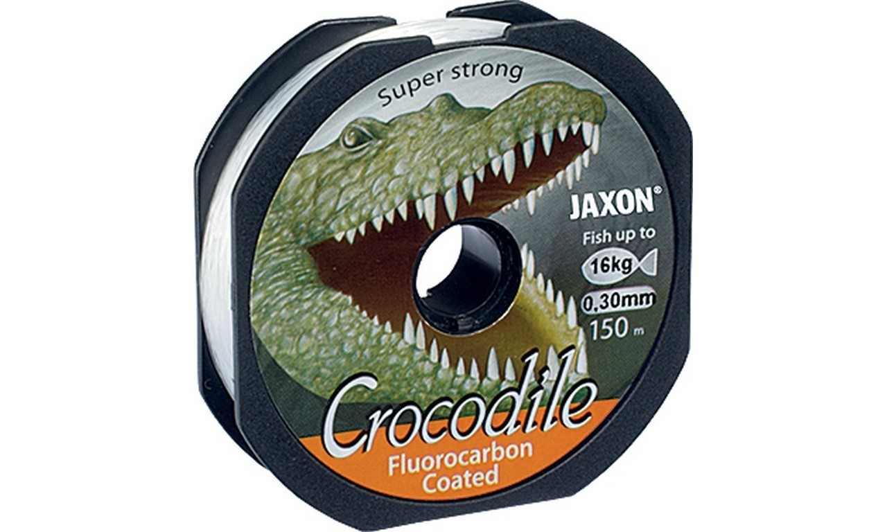 JAXON VLASEC CROCODILE FLUOROCARBON COATED 0,18mm 2x150m