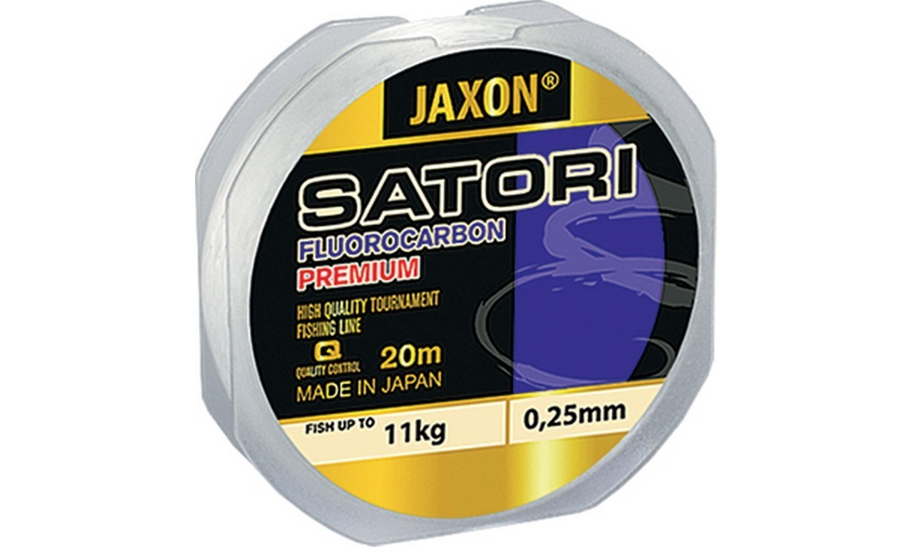 JAXON SATORI FLUOROCARBON PREMIUM 0,10mm 20m