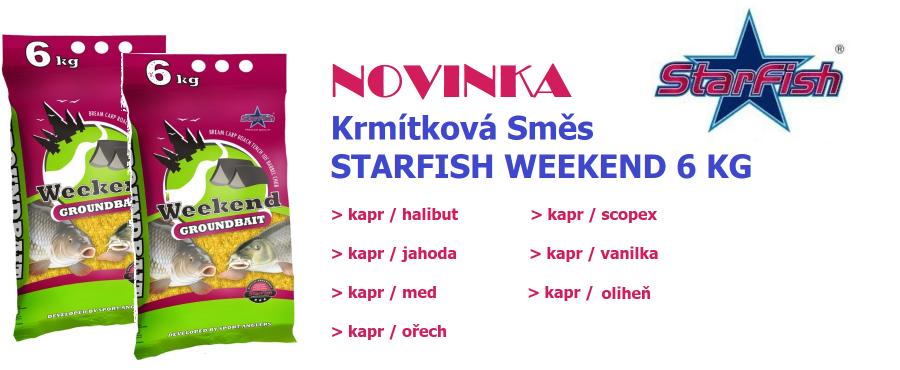 starfish weekend 6kg